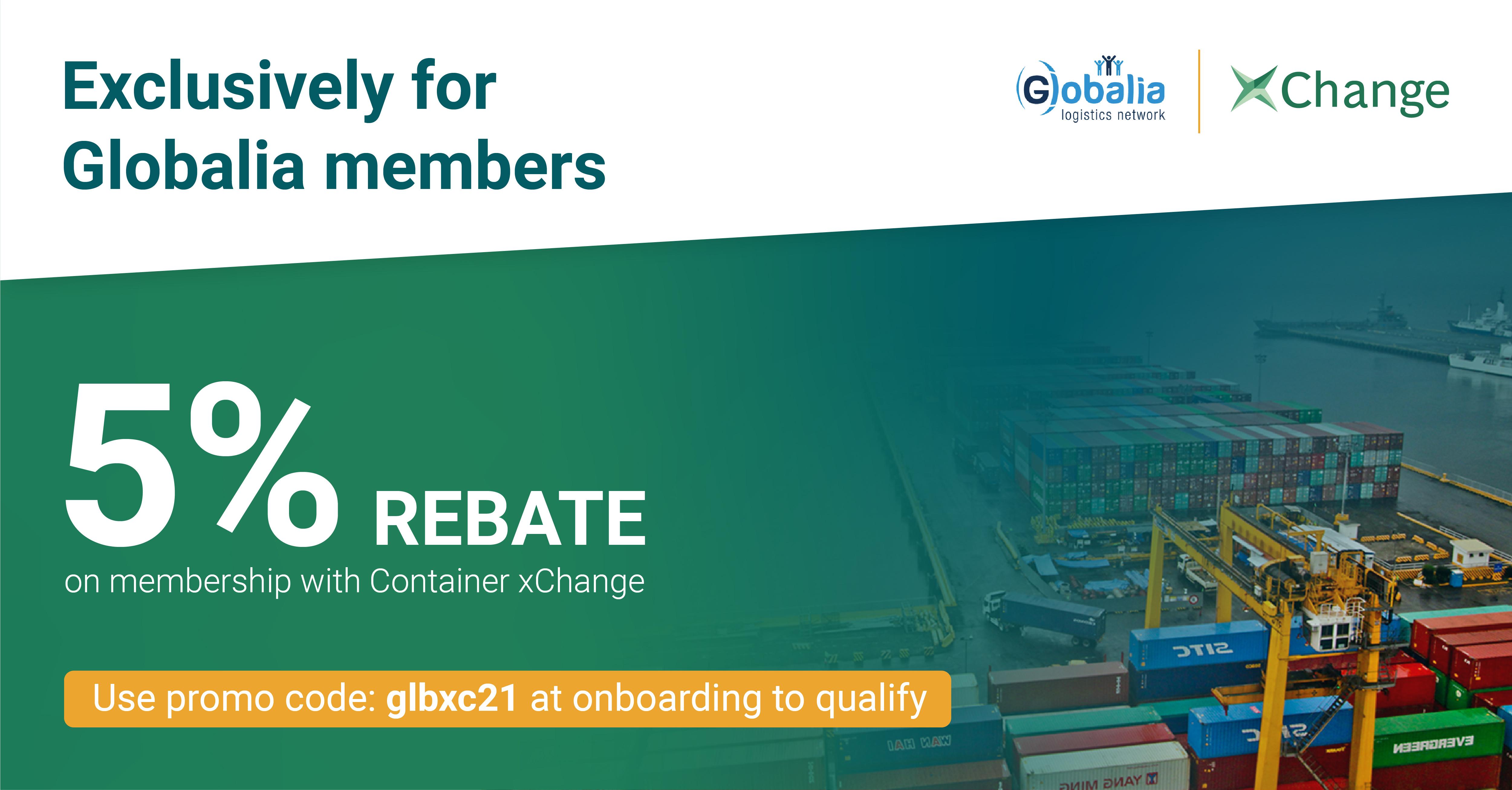 Globalia_xchange_5% rebate for members